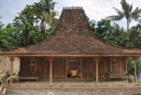 Rumah Adat Khas Pulau Jawa