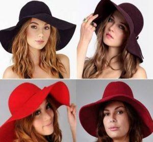 Topi Untuk Bentuk Wajah Persegi